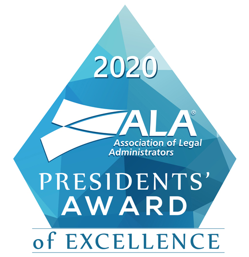 ALA 2020 Presidents Award of Excellence